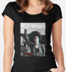 Revolution 3D Women's Fitted Scoop T-Shirt