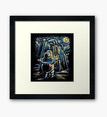 Van Goghstbusters Framed Print