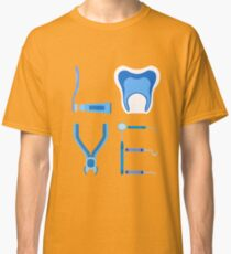 Dentistry Love Proud Dentist Funny Dental Assistant Gift  Classic T-Shirt