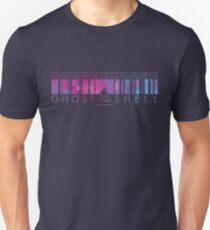 GHOST IN THE SHELL - Binary Pixels Unisex T-Shirt