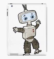 cartoon cute robot iPad Case/Skin