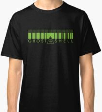 GHOST IN THE SHELL - Matrix Style Classic T-Shirt