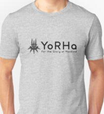 YoRHa - Black Unisex T-Shirt