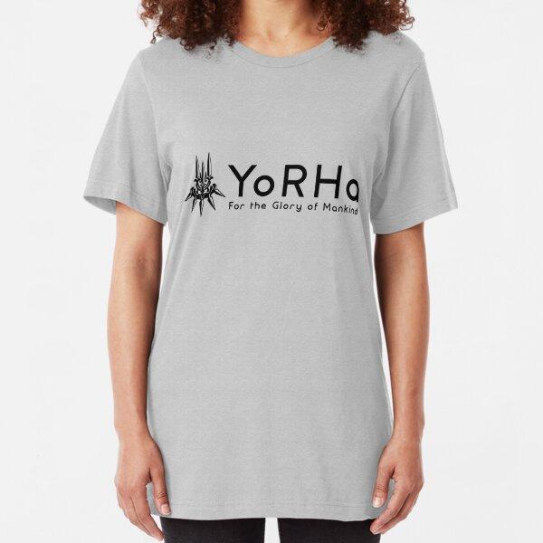 YoRHa - Black Slim Fit T-Shirt