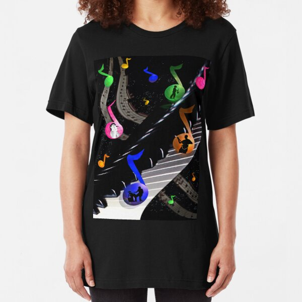 Universal Music Slim Fit T-Shirt