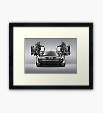 McLaren P1 MSO Framed Print