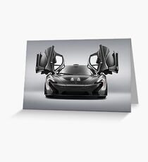 McLaren P1 MSO Greeting Card