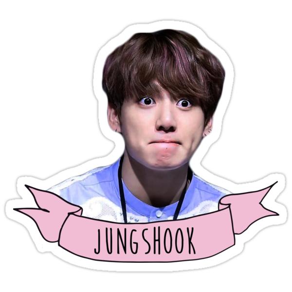 Quot Jeon Jungshook Ii Bts Quot Stickers By Showmethekshirt