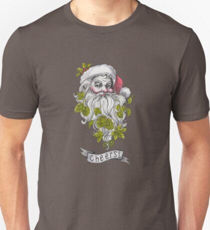 Craft Beer Santa - Cheers! T-Shirt