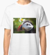 Pembrokeshire puffins Classic T-Shirt