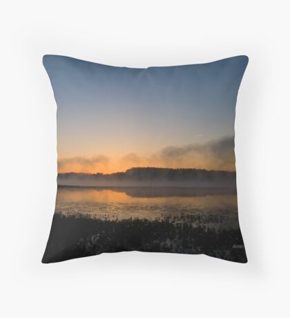 Sunrise over Harris Throw Pillow