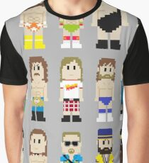 8-Bit Wrestlers! Graphic T-Shirt