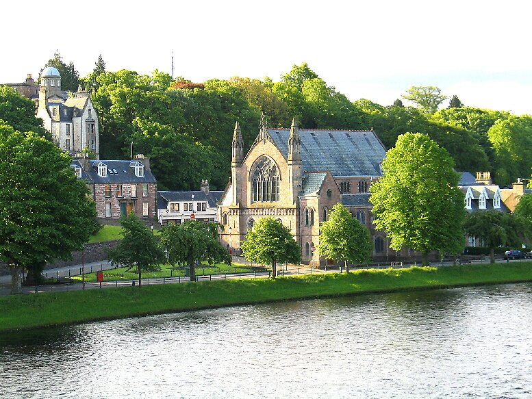 Inverness Church, Scotland by John  Simmons