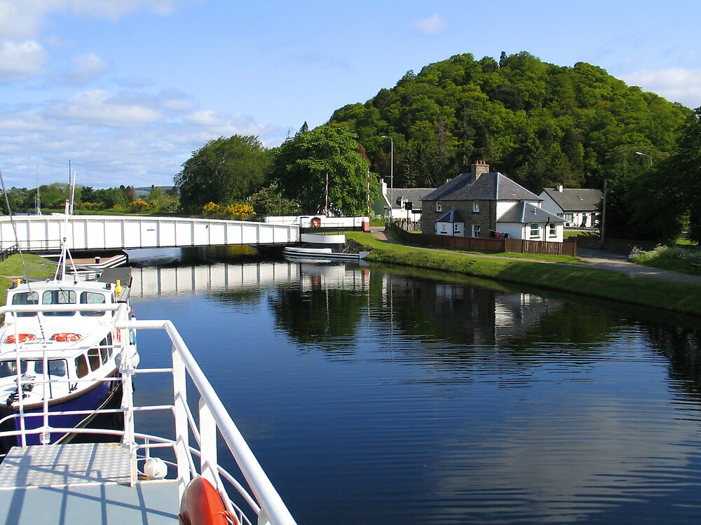 Loch Ness Canal by John  Simmons