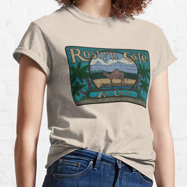 Rosyln Cafe - Un oasis: inspirado en la exposición del norte Camiseta clásica