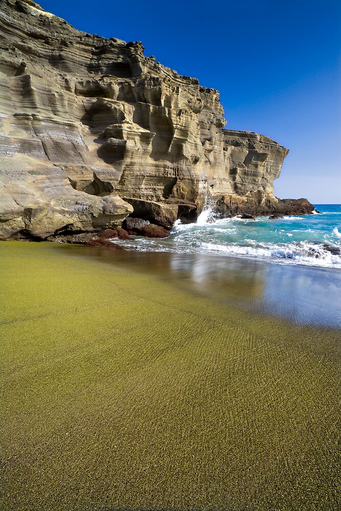 Green Sand Beach by Yves Rubin