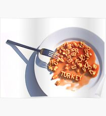 Dreaming of turkey this Christmas Poster
