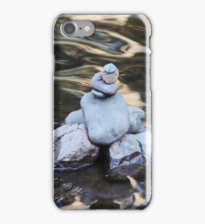 Stone Cairn iPhone Case/Skin