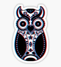 Stereoscopic Sugar Bird Sticker