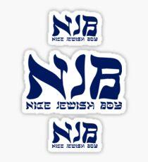 Nice Jewish Boy NJB Sticker