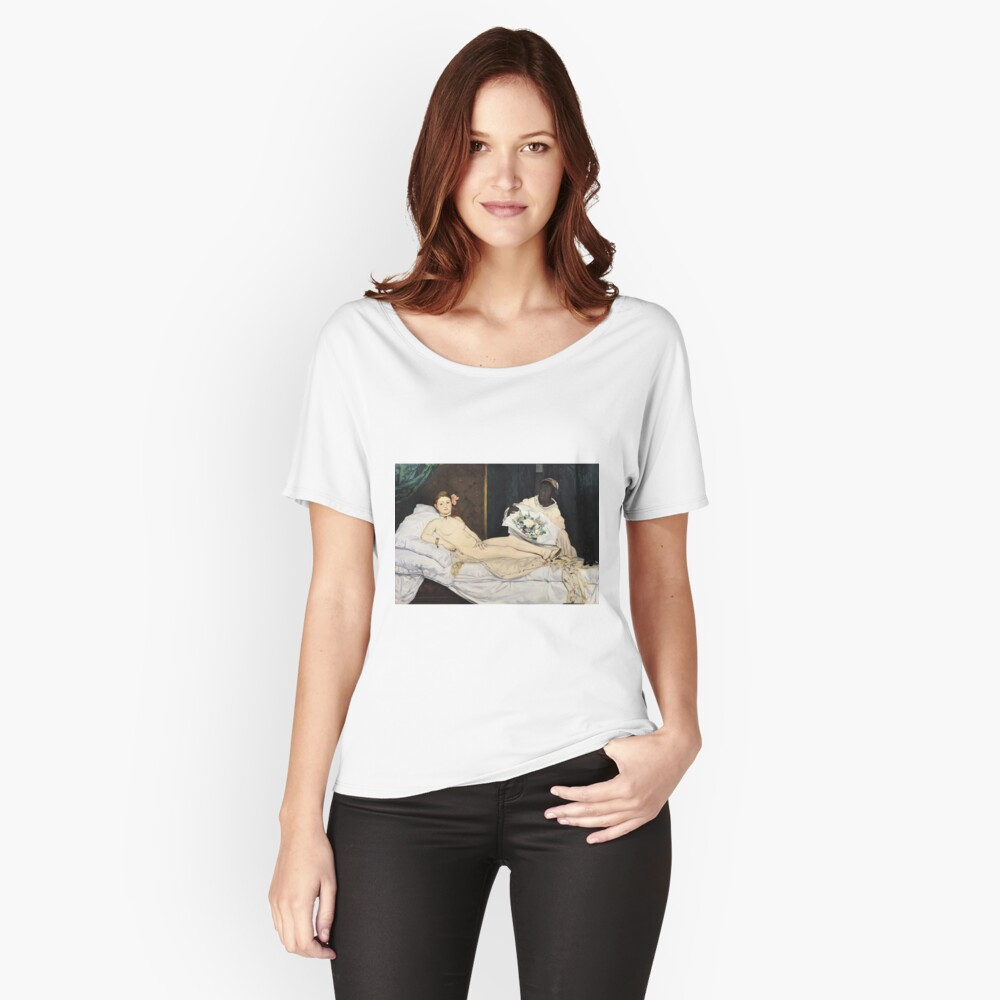 Edouard Manet - Olympia Loose Fit T-Shirt