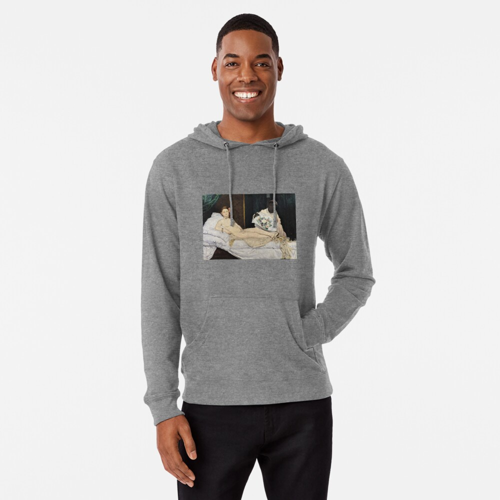 Edouard Manet - Olympia Leichter Hoodie
