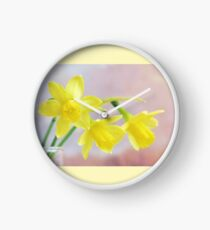 Daffodil Dawn Clock