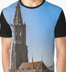 Cathedrale in Bern Graphic T-Shirt