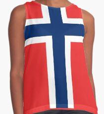 Norwegian Flag  Contrast Tank