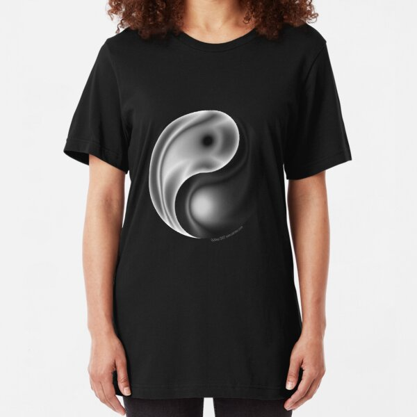 Yin Yang Slim Fit T-Shirt