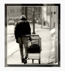 Homeless... Photographic Print