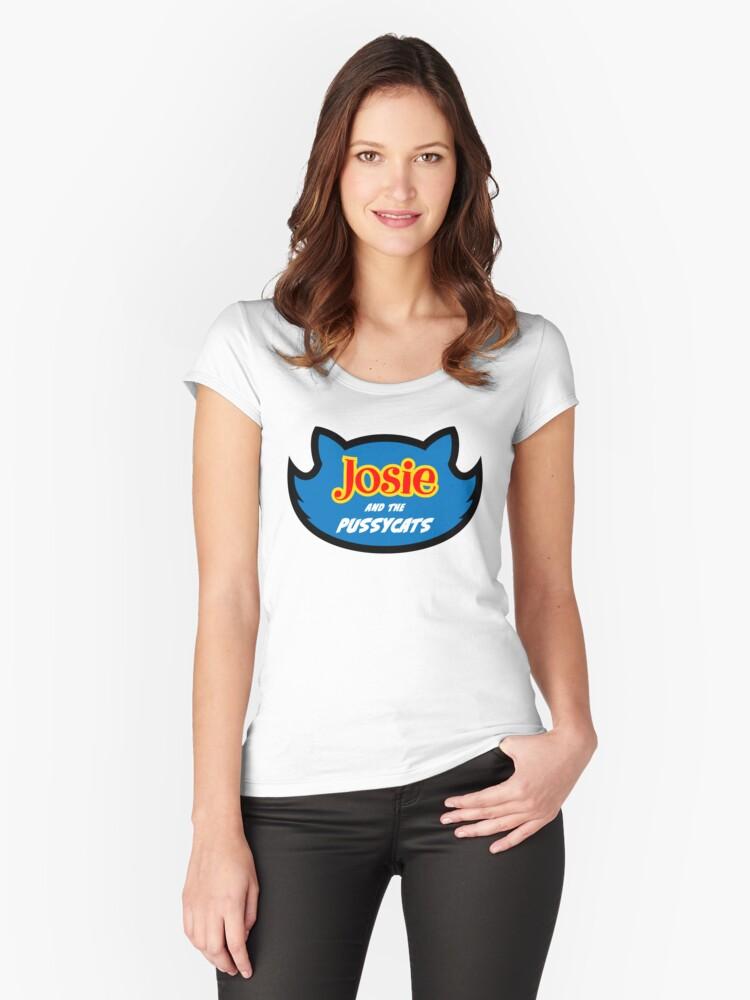b01adacc2 Camisetas entalladas de cuello redondo «Riverdale - Josie And The ...