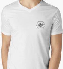 Camiseta para hombre de cuello en v Manchester Bee