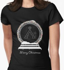 Christmas Sci-Fi - IV Womens Fitted T-Shirt