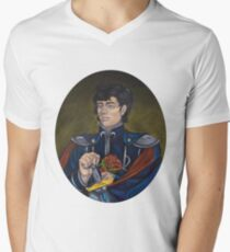 Prince Endymion portrait  Men's V-Neck T-Shirt
