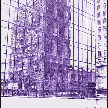 REFLECTION-MEN ON A SCAFFOLD by JOHNNYC