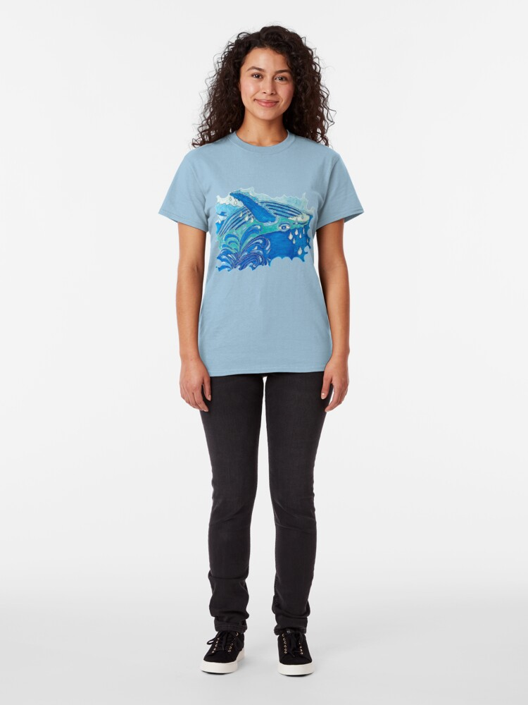 Alternate view of JOYOUS HUMPBACK WHALE Classic T-Shirt