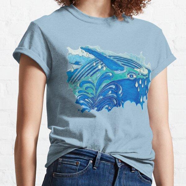 JOYOUS HUMPBACK WHALE Classic T-Shirt