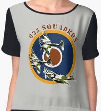 633 Squadron Chiffon Top
