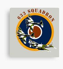 633 Squadron Canvas Print