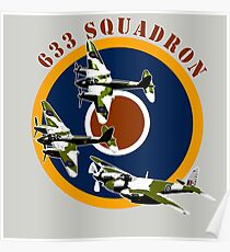 633 Squadron Poster