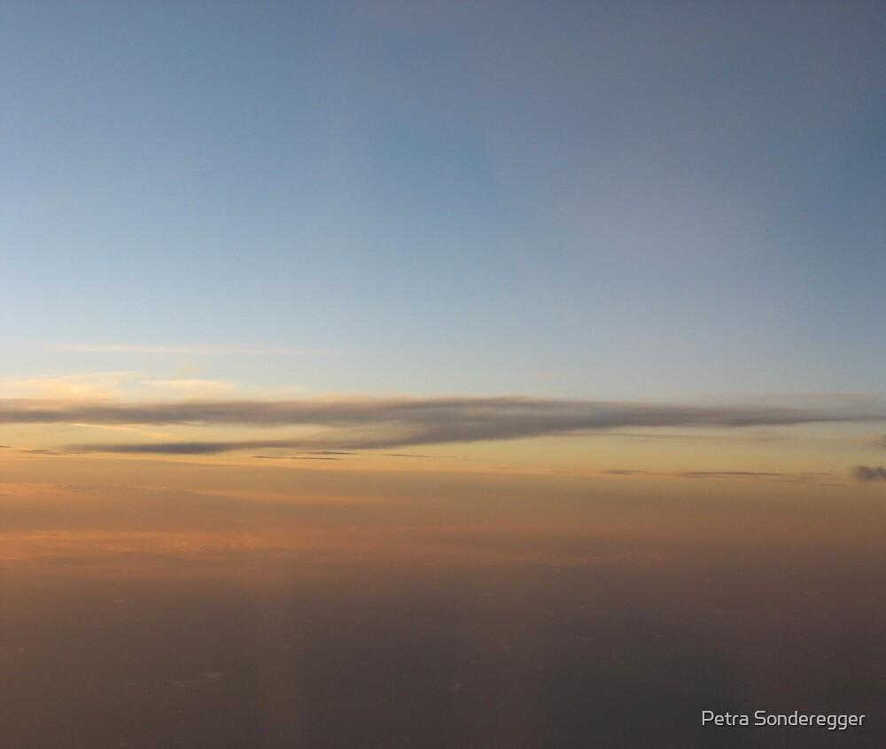 Sunset Sky by Petra Sonderegger