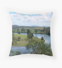 Manning River Taree N.S.W.Australia. Throw Pillow