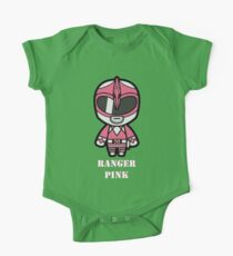 Pink Ranger - its morphin time One Piece - Short Sleeve