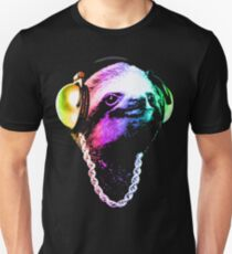 Sloth (Rainbow B-Boy Style) Unisex T-Shirt