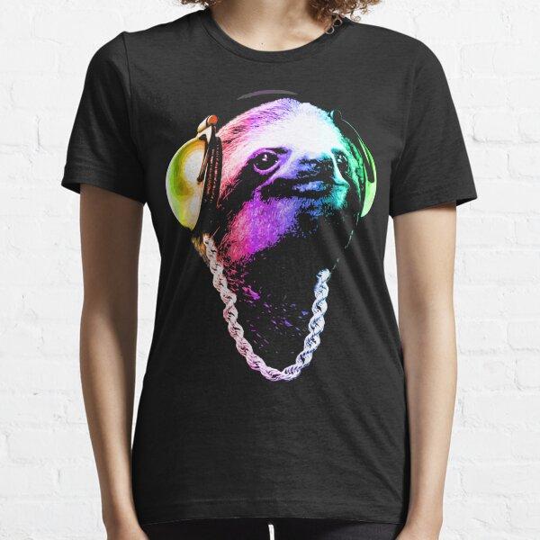 Sloth (Rainbow B-Boy Style) Essential T-Shirt