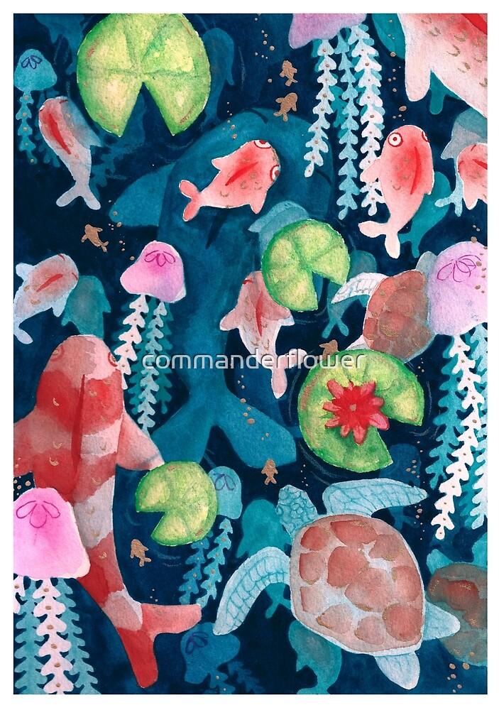 Fish by commanderflower