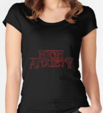 High Anxiety Women's Fitted Scoop T-Shirt
