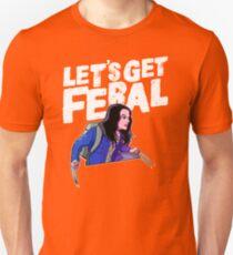 Laura gets feral Unisex T-Shirt