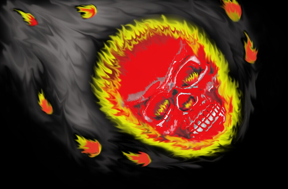 Fire Head by Mien